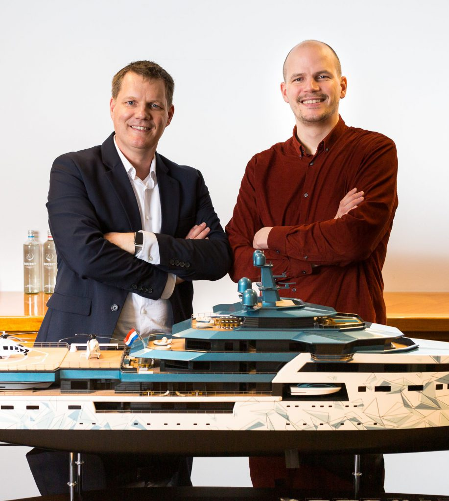 Azure Yacht Design Erik Spek and Bob van de Meiracker