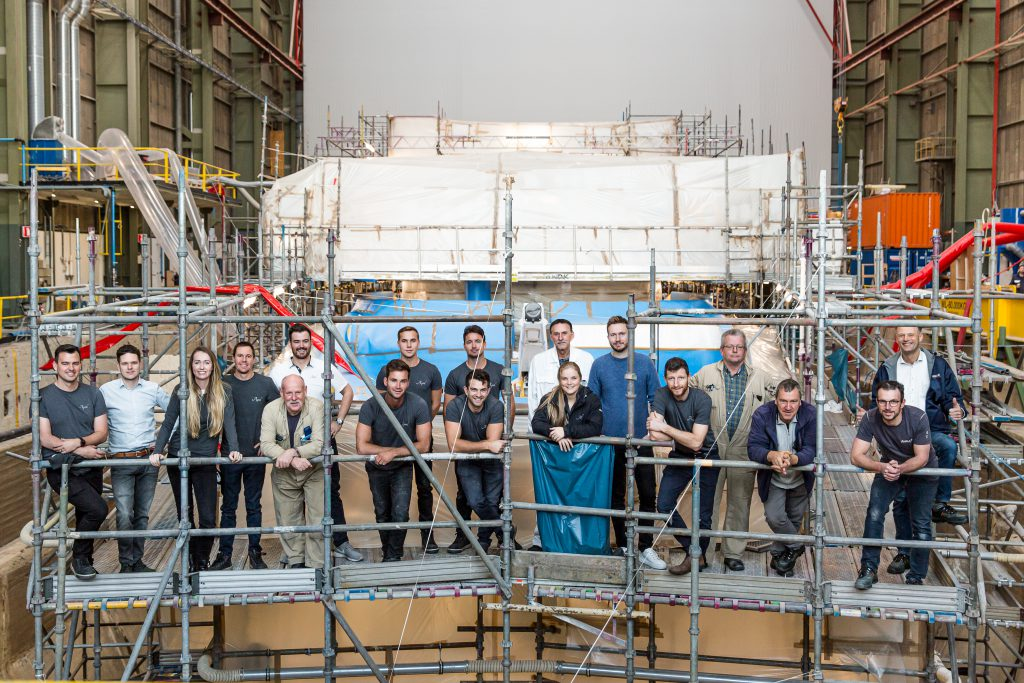 APRIL LIND refit 2020 crew production
