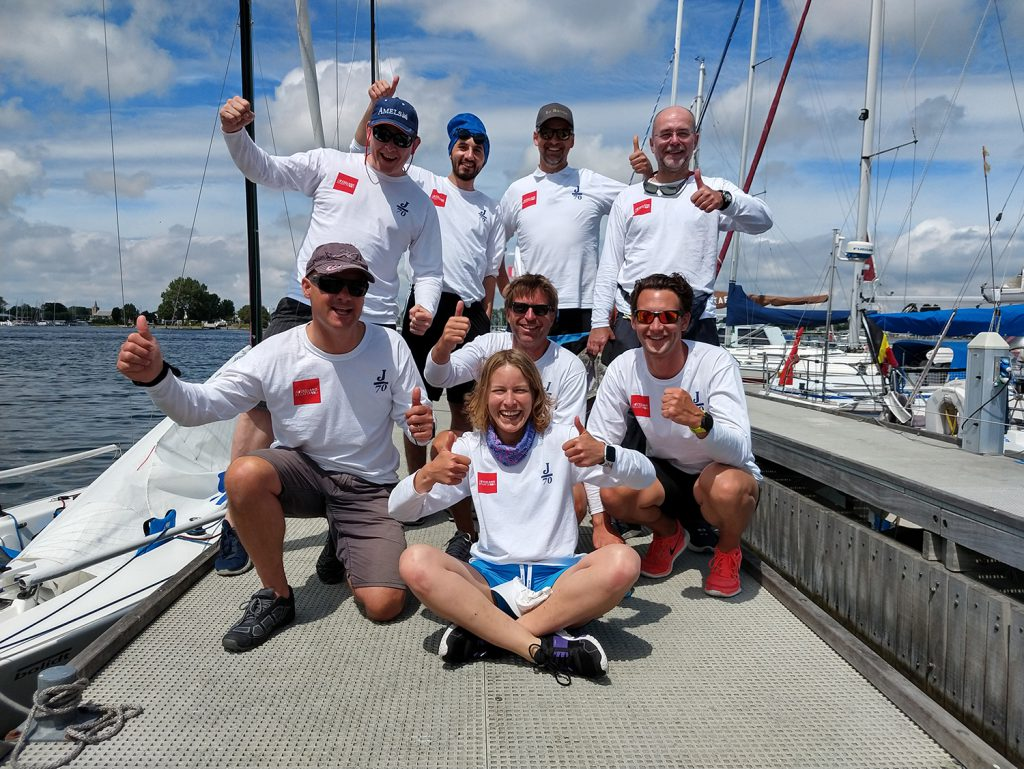 Zeeland Regatta Damen Yachting sailing team