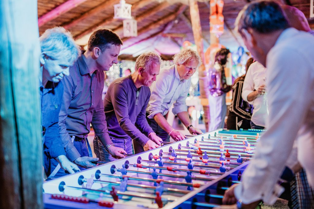 Damen Yachting 100 year celebration table football